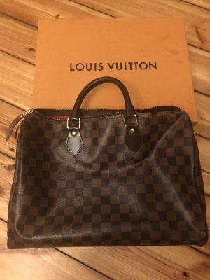 Louis Vuitton Ebene canvas speedy 35 braun Tasche