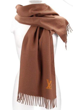 Louis Vuitton Bufanda de cachemir marrón Cachemir