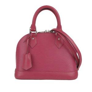 Louis Vuitton Mochila de colegio rosa Cuero