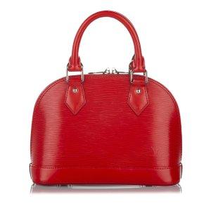 Louis Vuitton Sacoche rouge cuir