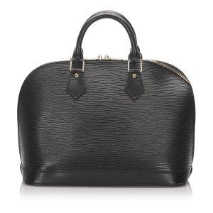 Louis Vuitton Satchel black leather