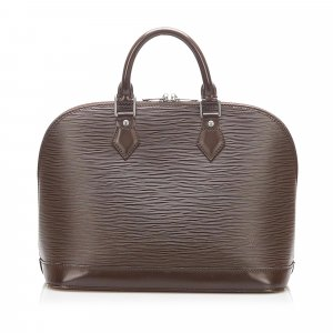Louis Vuitton Handbag dark brown leather