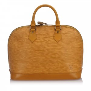 Louis Vuitton Epi Alma PM with Strap