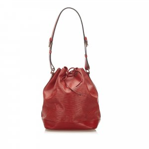 Louis Vuitton Shoulder Bag red leather