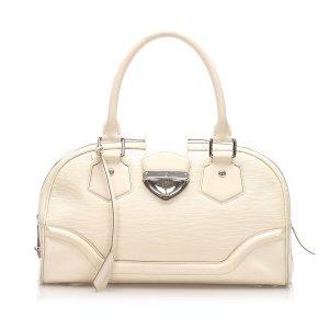 Louis Vuitton Satchel wit Leer