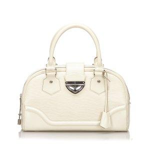 Louis Vuitton Cartella bianco Pelle