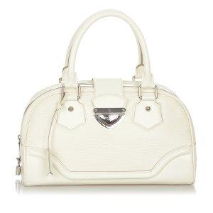 Louis Vuitton Handtas wit Leer