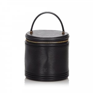 Louis Vuitton Make-up Kit black leather