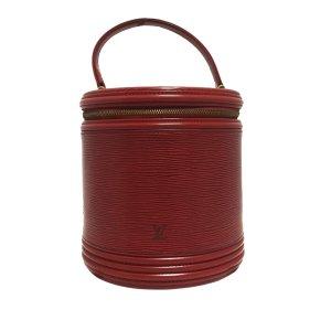 Louis Vuitton Kosmetyczka czerwony Skóra