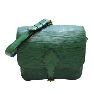 Louis Vuitton Crossbody bag green leather