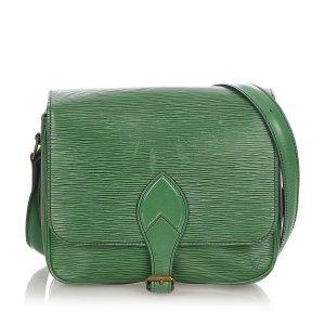 Louis Vuitton Sac bandoulière vert cuir