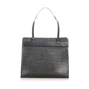 Louis Vuitton Torebka podręczna czarny Skóra