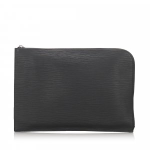 Louis Vuitton Epi Document Case Clutch Bag