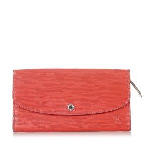 Louis Vuitton Portemonnee rood Leer