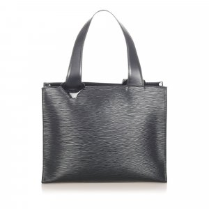Louis Vuitton Tote zwart Leer