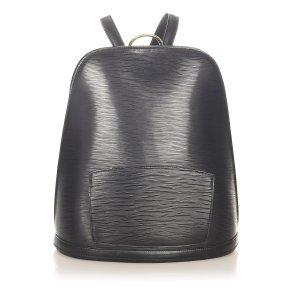 Louis Vuitton Plecak czarny Skóra
