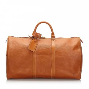 Louis Vuitton Epi Keepall 50