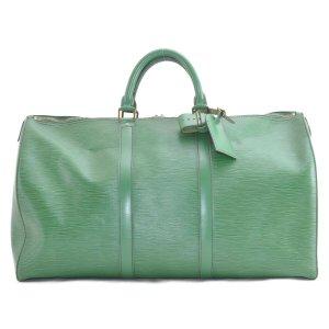 Louis Vuitton Bagage vert cuir