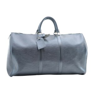 Louis Vuitton Luggage black leather