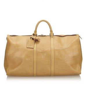 Louis Vuitton Reistas beige Leer