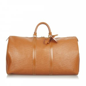 Louis Vuitton Reistas bruin Leer