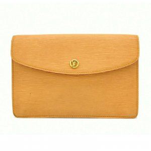 Louis Vuitton Epi Leather Clutch Second Bag Montaigne