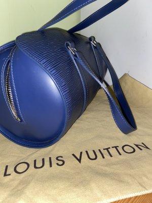 Louis Vuitton Epi Leather Papillon 30 in blue