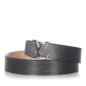 Louis Vuitton Ceinture noir cuir