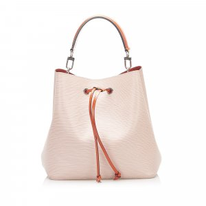 Louis Vuitton Shoulder Bag light pink leather