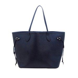 Louis Vuitton Borsa larga blu Pelle