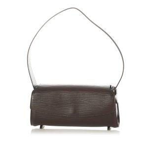 Louis Vuitton Handbag dark brown leather