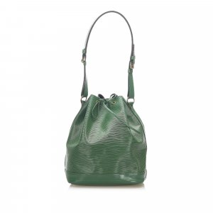 Louis Vuitton Shoulder Bag green leather