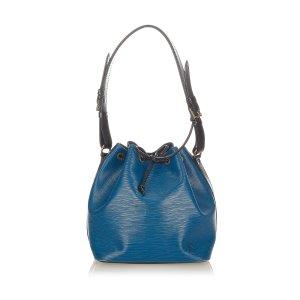 Louis Vuitton Shoulder Bag blue leather