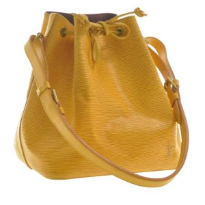 Louis Vuitton Shoulder Bag yellow leather