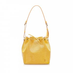 Louis Vuitton Shoulder Bag yellow leather