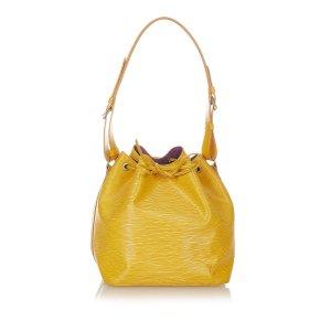 Louis Vuitton Schoudertas geel Leer