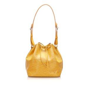 Louis Vuitton Torba na ramię żółty Skóra