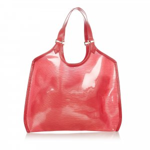 Louis Vuitton Borsa larga rosso Clorofibra