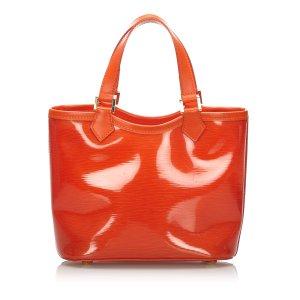 Louis Vuitton Handbag red polyvinyl chloride