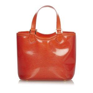 Louis Vuitton Handtas oranje Chloorvezel