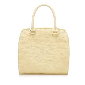 Louis Vuitton Torebka podręczna beżowy Skóra