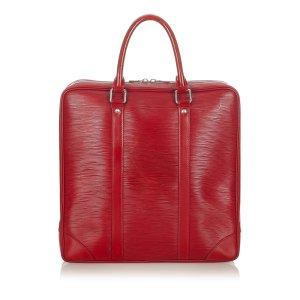 Louis Vuitton Serviette rouge cuir