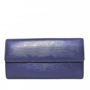 Louis Vuitton Epi Porte Tresor International Long Wallet