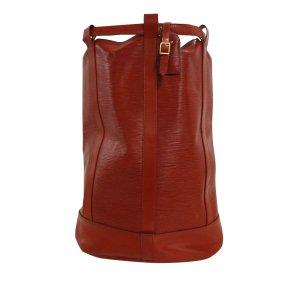Louis Vuitton Mochila rojo Cuero