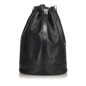 Louis Vuitton Rugzak zwart Leer