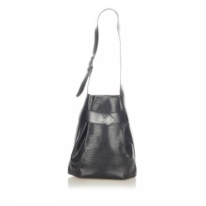 Louis Vuitton Sac à dos noir cuir