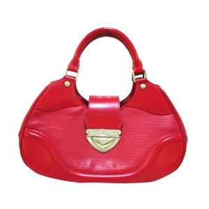 Louis Vuitton Mochila de colegio rojo Cuero