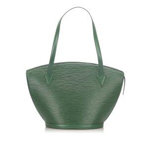 Louis Vuitton Borsa a tracolla verde Pelle