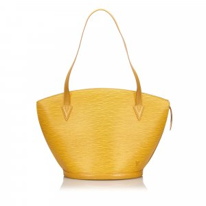 Louis Vuitton Tote yellow leather