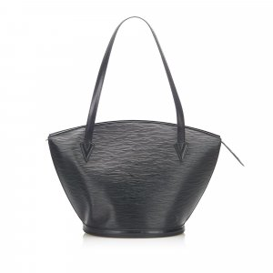 Louis Vuitton Borsa a tracolla nero Pelle